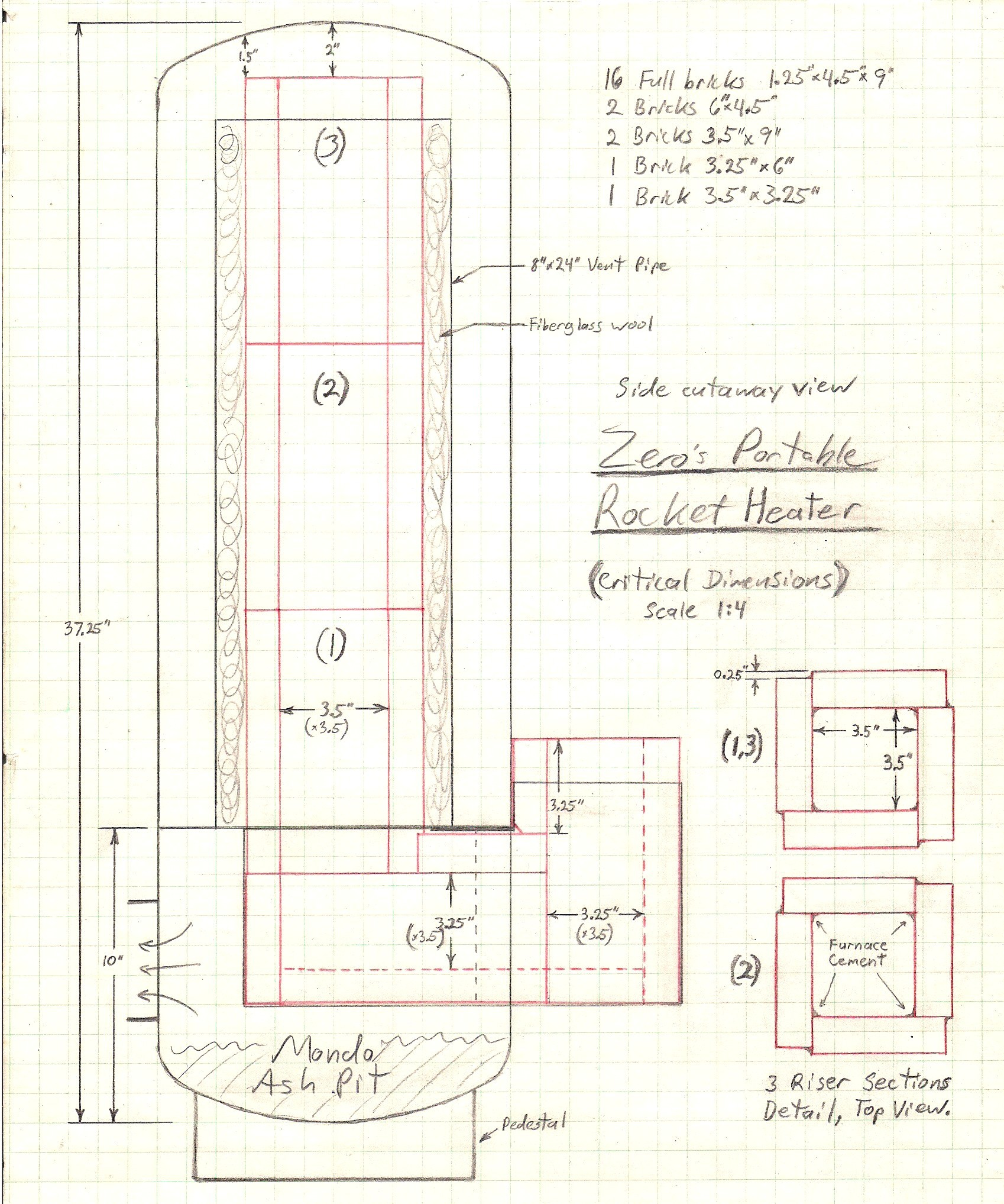 Rocket Stove Plans : Pin Rocket Stove Mass Heater Plans on Pinterest